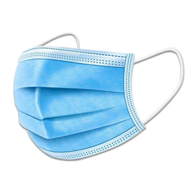 Disposable adult mask(blue)